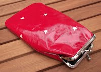 PS0099 Red Stars Glasses Case