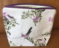 CM0705 Lilac Floral and Birds